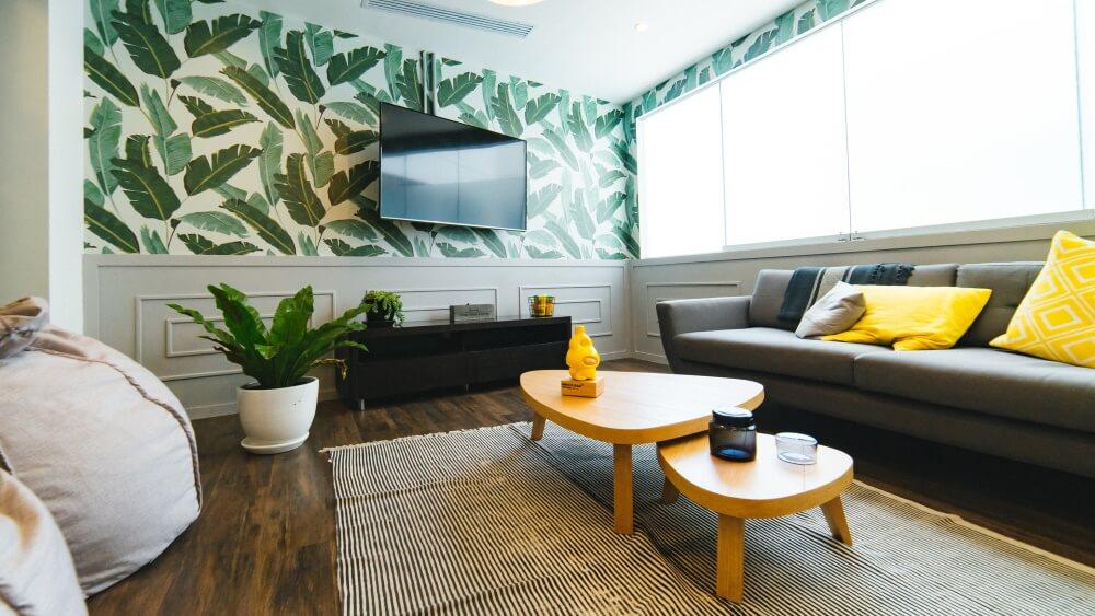 modern home lounge